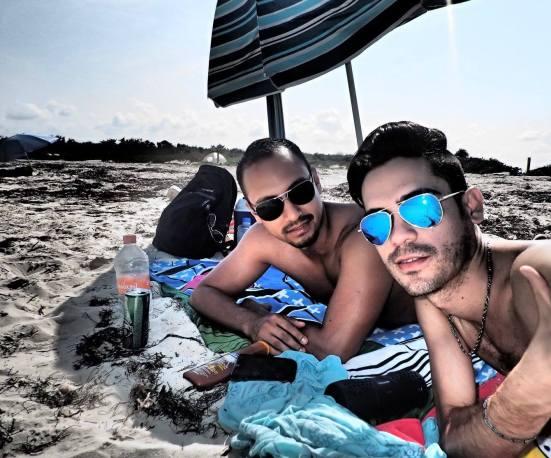 Amigos en Cancún. www.vivirencancun.cmx