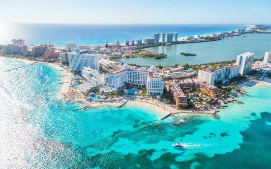Zona hotelera de Cancún