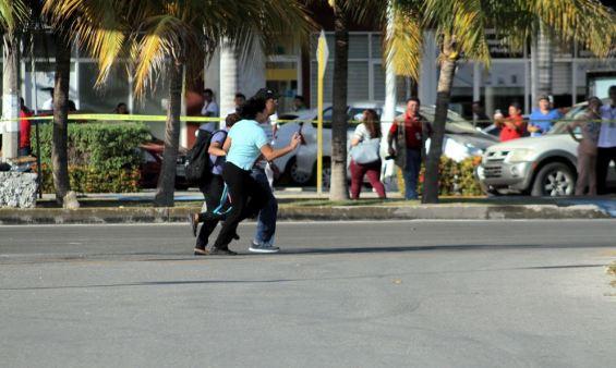 Balacera en Cancún